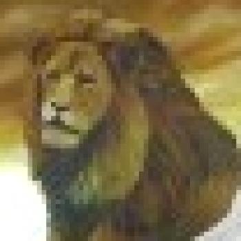 אריה ענק משער האריות